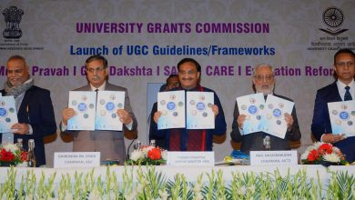 Photo of UGC Documents on Quality Mandate Released by the HRD Ministry