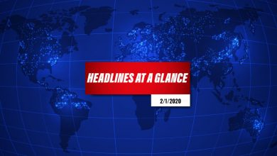 Photo of Headlines at a Glance – 2nd January 2020