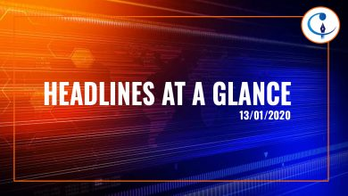 Photo of Headlines At a Glance – 13th Jan 2020