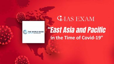 """Photo of World Bank warnings in its report titled """"East Asia and Pacific in the Time of Covid-19"""""""