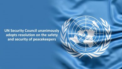 Photo of UN Security Council unanimously adopts resolution on the safety and security of peacekeepers