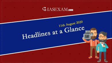 Photo of Headlines at a Glance – 11th August 2020