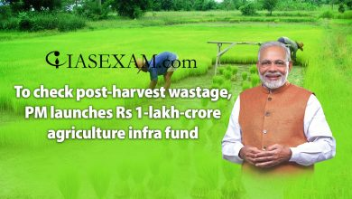 Photo of To check post-harvest wastage, PM launches Rs 1-lakh-crore agriculture infra fund