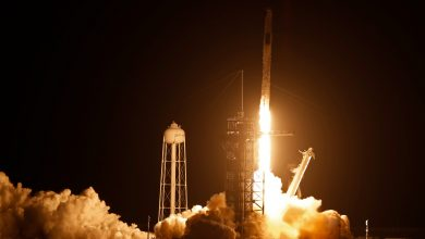 Photo of SpaceX launches 4 astronauts to Space Station